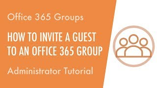 How to Invite a Guest to an Office 365 Group