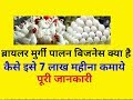 Murgi palan project in hindi | How to Start Broiler Poultry Farming Guide Hindi