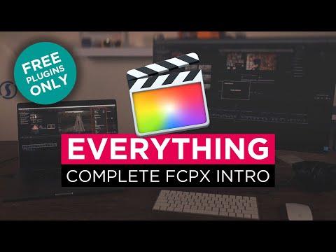 LEARN FINAL CUT PRO X in 45 MINUTES [+Best Free Plugins ...