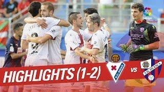 Resumen de SD Eibar vs SD Huesca (1-2)