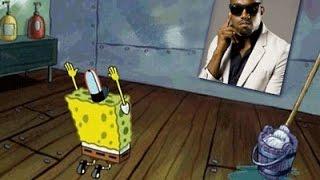 Kanye Meets Spongebob In INSANE Mashup   What's Trending Now