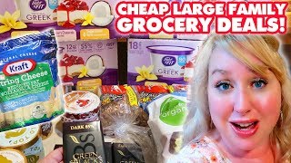 CHEAP Large Family Grocery Shopping Deals + THM Haul (Plus My BIG Weight Gain Chit Chat & Plans!)