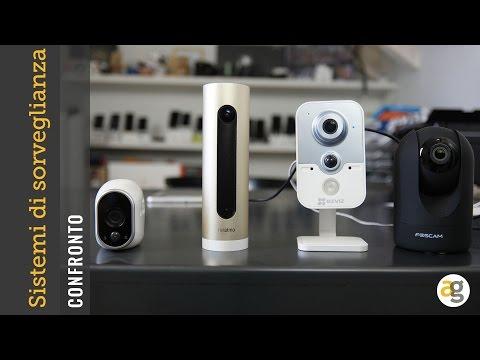 CONFRONTO i 4 migliori sistemi di videosorveglianza SMART