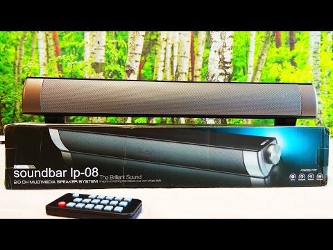 Soundbar lp 08 Bluetooth multimedia speaker system HYASIA