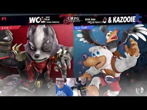 CMPG #108 Losers Quarters - Colm (Wolf/Marth) vs Azor Ahai (Banjo)
