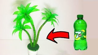 Beautiful Tree Making With Plastic Bottle Best Out Of Waste Plastic Bottle Craft Ideas