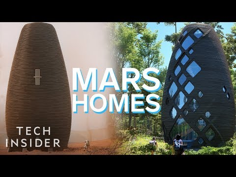 The Mars Homes That NASA Awarded $500k