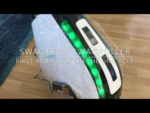 Swagtron SwagRoller Unicycle First Ride