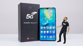Huawei Mate 20 X (5G) Unboxing & Impressions