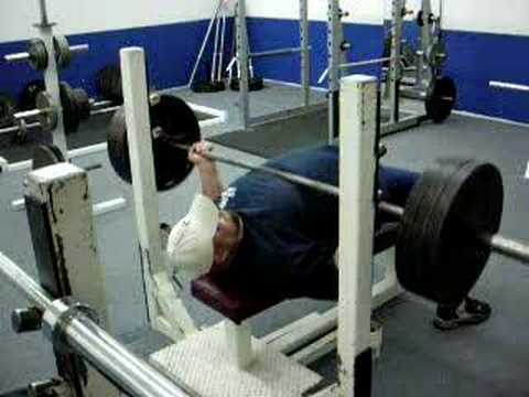 Reverse Grip Bench Press 315lbsx21reps