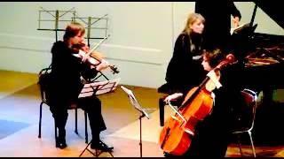 Mozart Trio B dur Zeist Music Days Elena Zhukova, Oleksandr Stytsiuk, Lidiya Mashek