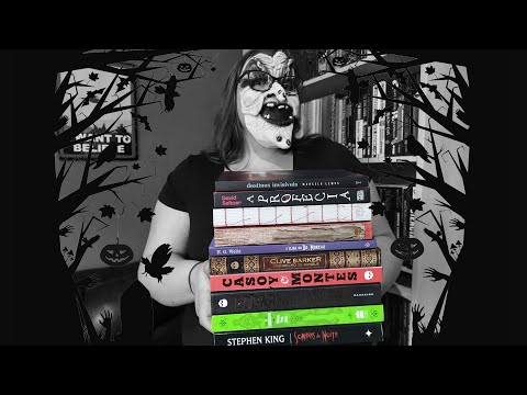 Resenhando Outubro - O mês do Horror | Li num Livro