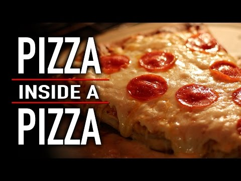 PIZZA INSIDE A PIZZA