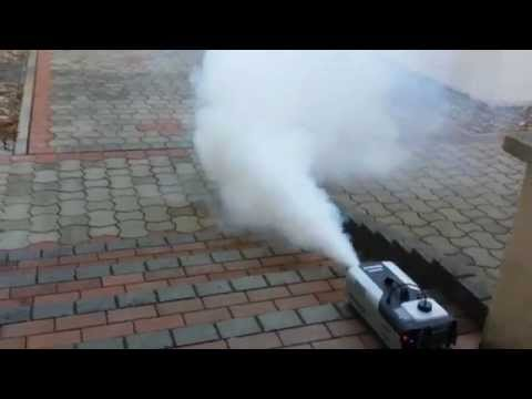 Nebelmaschine Unboxing & Test (Beamz s1500)