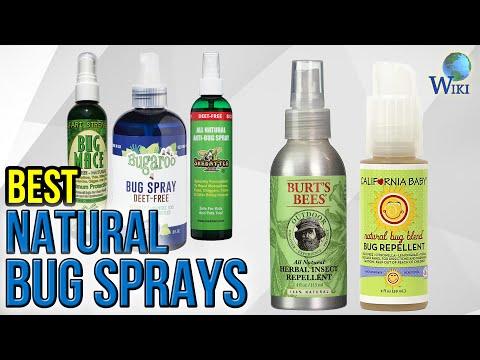 10 Best Natural Bug Sprays 2017