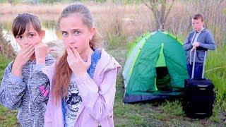 РЫЖИЙ СБЕЖАЛ ИЗ ДОМА!! Живет в палатке!!
