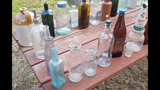 Collecting Australian Found Antique Bottles. Part 1 - An Introduction To The Hobby Of Old Bottles