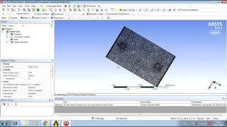 Solar air heater, CFD-modeling ANSYS / Солнечный подогреватель воздуха в ANSYS Fluent