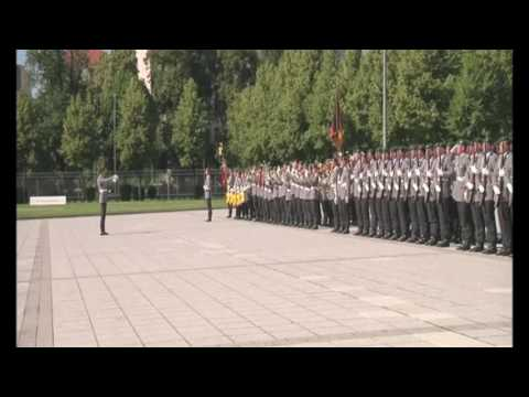 National anthem of Pakistan played at the visit COAS in Berlin
