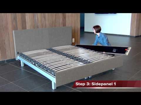 Ergosleep® Clip-On-bedomranding combineert comfort en sfeer