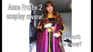 Anna Frozen 2 Cosplay Review
