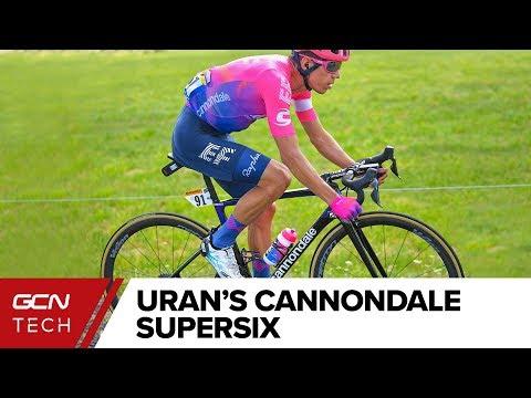 Rigoberto Uran's Cannondale SuperSix Evo Hi-MOD | EF-Education First Tour de France Pro Bike