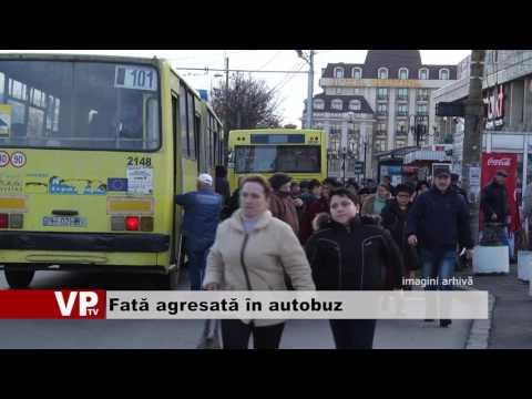 Fată agresată în autobuz