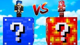 Minecraft ITA - LUCKY BLOCK D'ACQUA VS LUCKY BLOCK DI LAVA!!