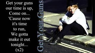 Get Your Guns - Jamie Campbell Bower & The Darling Buds [Lyrics]