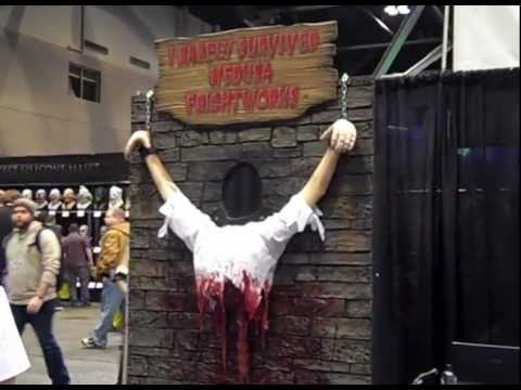 HD54 Haunted House Halloween TransWorld Exhibits 2013 St. Louis MO