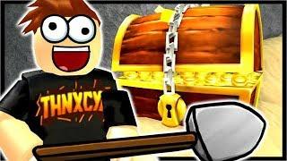 Roblox Treasure Hunt Simulator Videos - I Dug Through The Bottom 7500 Blocks Roblox Treasure