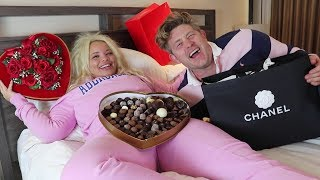 SAYING 'YES' TO MY GIRLFRIEND FOR 24 HOURS CHALLENGE (I BOUGHT HER CHANEL!)