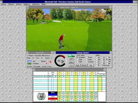 Microsoft Golf 2.0 (Access Software) (Windows 3.x) [1995]