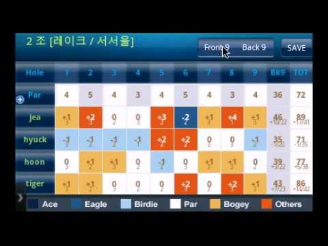 Video of 골프대회(토너먼트)