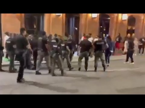 Detroit police suspend officer seen on video punching man in Greektown