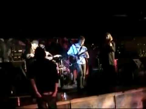 """Phil Circle and his band performing the blues classic """"Born Under A Bad Sign"""" with the legendary Ruby Harris on fiddle."""