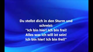 Perfekte Welle lyrics