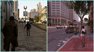 Watch Dogs E3 Graphics Mod Apex Reshade VS Watch Dogs 2