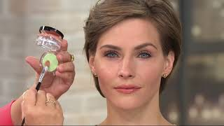 Laura Geller Filter Corrector Color Perfecting Balm W/ Brush On QVC