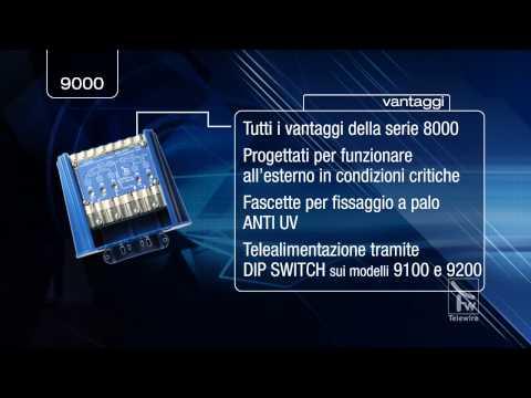 Amplificatore TV serie 9000 da palo [per la nuova televisione digitale]