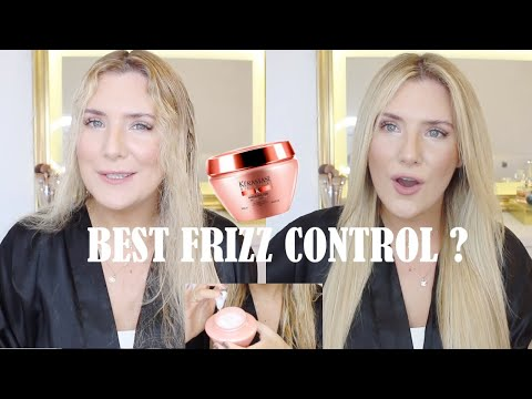 KERASTASE DISCIPLINE MASKERATINE SMOOTHING TREATMENT: BEST ANTI-FRIZZ HAIR MASK??  FIRST IMPRESSIONS