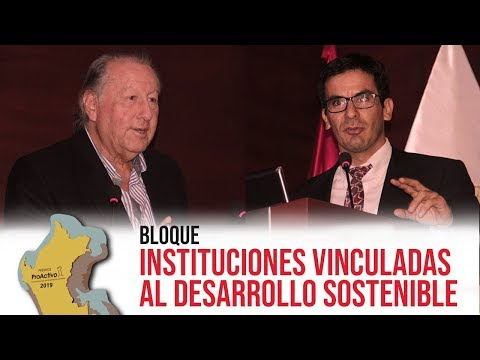#PremiosProActivo 2019 | Bloque Instituciones Vinculadas al Desarrollo Sostenible