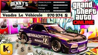 GTA 5 Online❗️ Bien  Customiser  💵  L' ELEGY  RÉTRO  CUSTOM  💵  Au  Meilleur  PRIX  DE  REVENTE  ✅