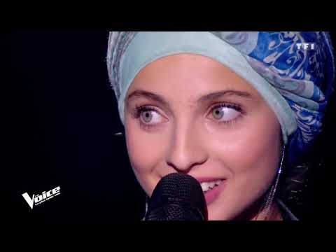 THE VOICE 2018  Mennel  chante Hallelujah de Léonard Cohen version longue