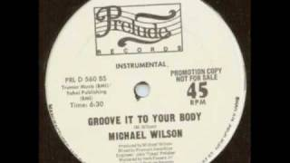 Michael Wilson - Groove it (FK Dub)