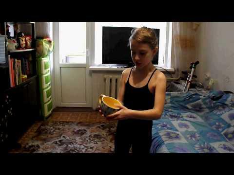 детская гимнастика разминка с Дарьей Джериховой