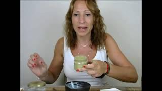 Exfoliante casero de Té Matcha
