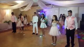 Baile Sorpresa Daisy's Quinceañera PROMISE, CUMBIA, MERENGUE.
