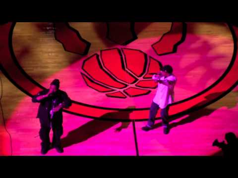 Rob Base - It Takes Two (Live at Raptors Game)