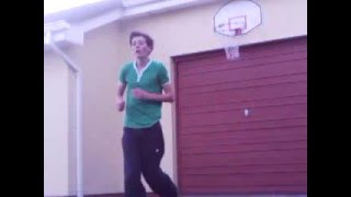 Adam Gallagher Dunks - Amare Stoudemire